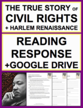 Civil Rights & Harlem Renaissance Reading Response, Answer ...