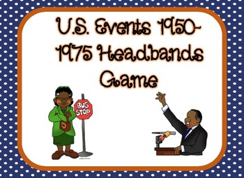 US Events 1950-1975 Headbands Game (Digital Version)