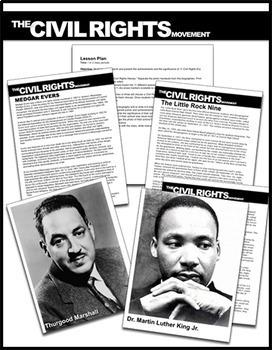 Civil Rights Heroes Activity: Civil Rights Activists Bios/