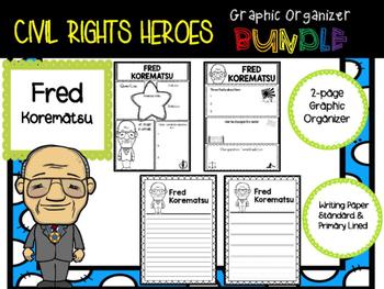 Civil Rights Heroes Graphic Organizer BUNDLE