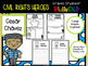 Civil Rights Heroes Graphic Organizer BUNDLE