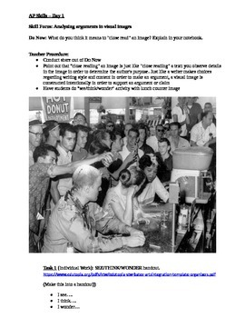 Civil Rights Images Analysis