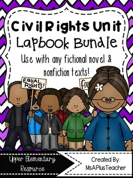 Civil Rights Lapbook Bundle