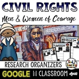 Civil Rights Leaders Biography Report & Informational Writing: Google Classroom