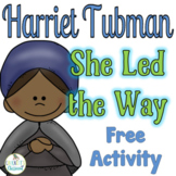 Civil Rights Leaders Free Sample; Harriet Tubman  #kindnessnation
