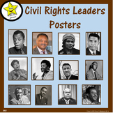 Civil Rights Leaders Posters