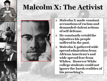 Civil Rights Leaders and Activists Powerpoint