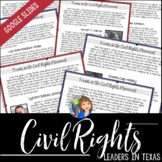 Civil Rights Leaders in Texas for Distance Learning Packet