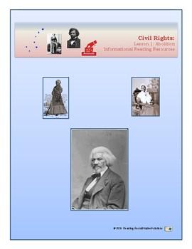 Civil Rights Lesson 1 - Abolition