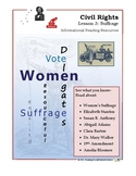 Civil Rights Lesson 3 - Suffrage