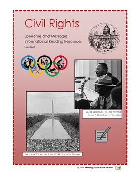 Civil Rights Lesson 8 - MLK Speeches