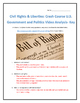 Civil Rights & Liberties: Crash Course U.S. Government and Politics Analysis