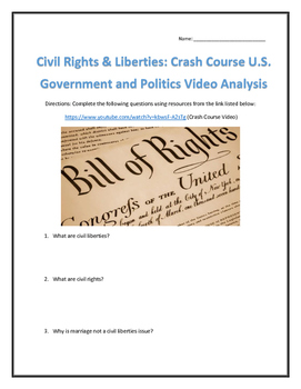 Civil Rights & Liberties: Crash Course U.S. Government and