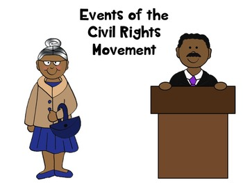 Black History Month - Civil Rights & Martin Luther King Timeline & Gallery Walk