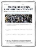 Civil Rights - Martin Luther King Jr. Assassination - Webquest with Key