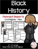 Civil Rights Men Pennant Reports ~ Black History