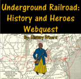 Underground Railroad: History and Heroes Webquest
