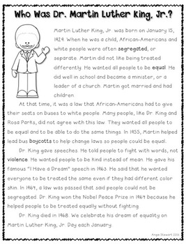 Civil Rights Mini-Unit Supplement for Primary Grades