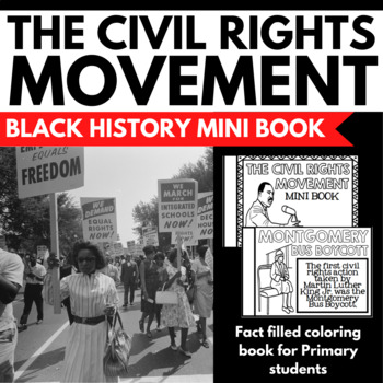 Civil Rights Movement Unit -Black History Unit Resources -