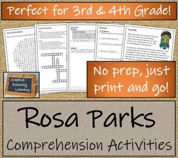 Civil Rights Movement - 3rd Grade & 4th Grade Bundle of Close Reading Activities