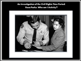 Civil Rights Movement Activity:  Rosa Parks/Bus Boycott Teacher Lesson Resources