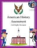 Civil Rights Movement Assessment - 4th Grade Louisiana Soc