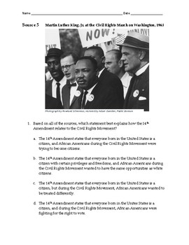 Civil Rights Movement Assessment