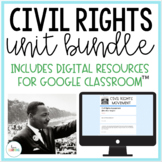 Civil Rights Movement Unit (with Interactive Notes)