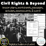 Civil Rights Movement & Beyond {Digital & PDF Included}