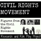 Civil Rights Movement Research and Role Play Project RECENTLY UPDATED