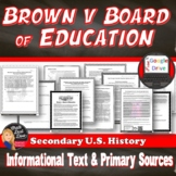 Civil Rights Movement – Brown v Board of Education Primary