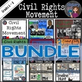 Civil Rights Movement Bundle
