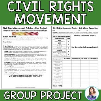 Civil Rights Movement Collaborative Project