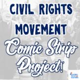 Civil Rights Movement Comic Strip Project