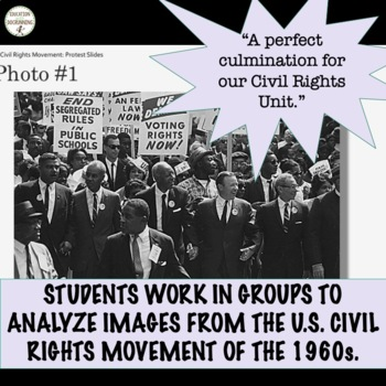 Civil Rights Activities for today - great for social justice discussions