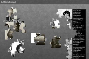 Civil Rights Movement Digital Breakout Escape Room