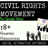 Civil Rights Movement Digital Interactive Notebook Google Drive