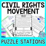 Civil Rights Movement ESCAPE ROOM: Black History, Rosa Parks, MLK, Ruby Bridges