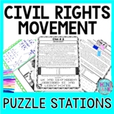 Civil Rights Movement ESCAPE ROOM: Black History, Rosa Par
