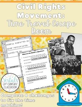Civil Rights Movement Escape Room