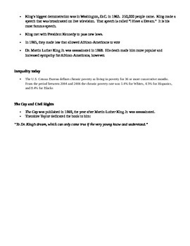 Civil Rights Movement - Fill in the blank notes (The Cay)