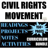 Civil Rights Movement Activities Bundle