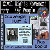 Civil Rights Movement Important People Activity