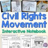 Civil Rights Movement Interactive Notebook Activities