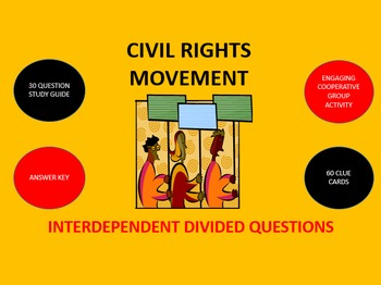 Civil Rights Movement: Interdependent Divided Questions