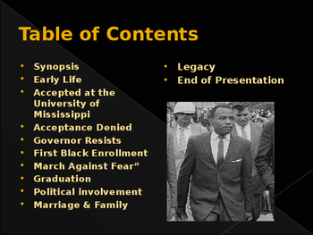 Civil Rights Movement - Key Figures - James Meredith