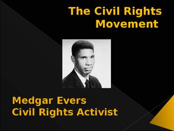 Civil Rights Movement - Key Figures - Medgar Evers