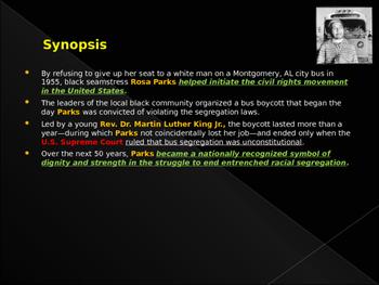 Civil Rights Movement - Key Figures - Rosa Parks