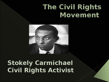 Civil Rights Movement - Key Figures - Stokely Carmichael