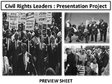 Civil Rights Movement : Leaders Project